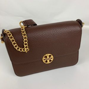 New Tory Burch Chelsea Leather Cross Body